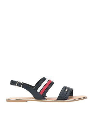 cfcdaa91c9adb5 Tommy Hilfiger Strappy Flat Sandal - Sandals - Women Tommy Hilfiger ...