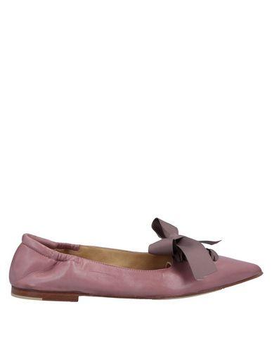 POMME D'OR Ballet Flats in Pastel Pink