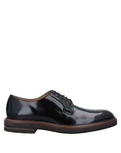 HIGH Laced Shoes in Black