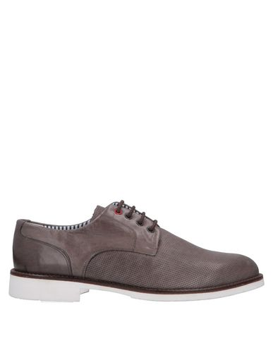 DAMA Lace-Up Shoes in Lead