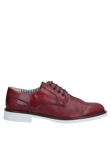 DAMA Lace-Up Shoes in Maroon