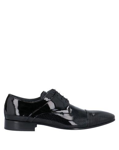 GIOVANNI CONTI Laced Shoes in Black