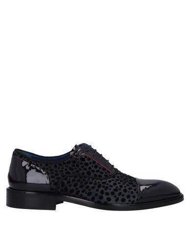 GIOVANNI CONTI Laced Shoes in Dark Purple