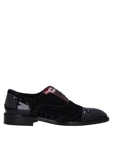GIOVANNI CONTI Laced Shoes in Dark Blue