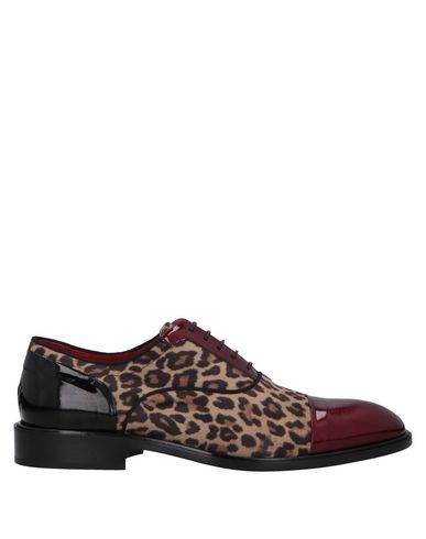 GIOVANNI CONTI Laced Shoes in Red