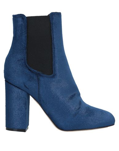 ATOS LOMBARDINI Ankle Boots in Dark Blue