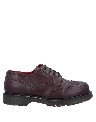 HAPPINESS Lace-Up Shoes in Deep Purple