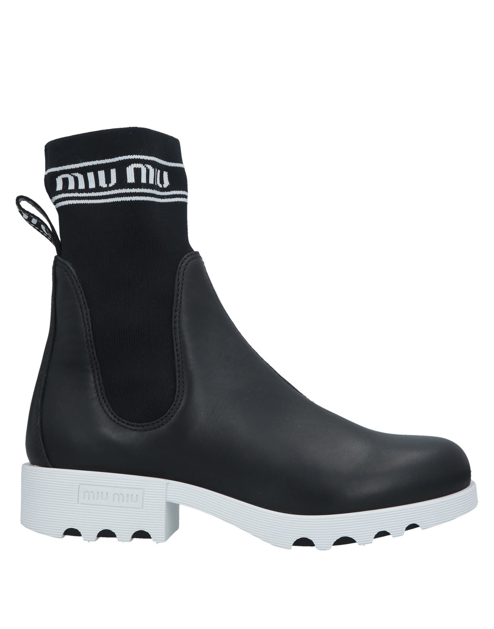 ab4ee57350ea0 Miu Miu Ankle Boot - Women Miu Miu Ankle Boots online on YOOX ...