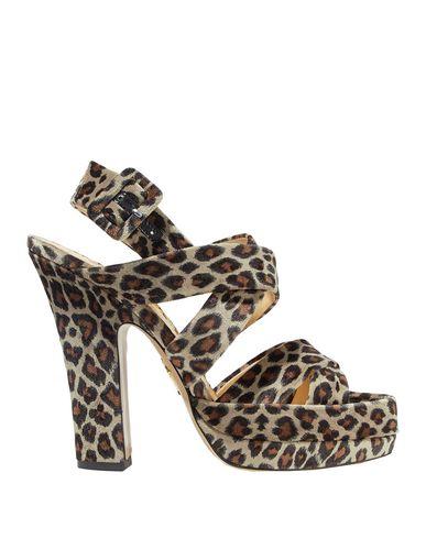 Charlotte Olympia Sandals In Khaki
