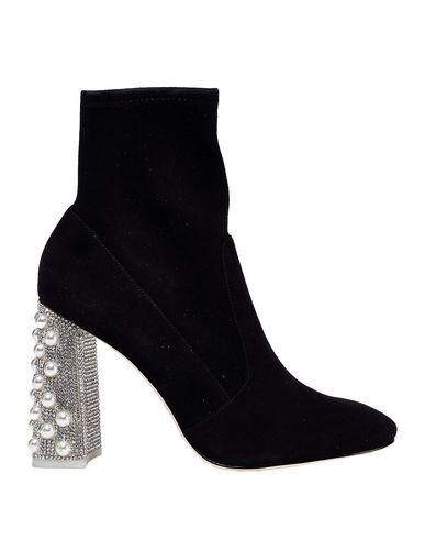 Sophia Webster Ankle Boot In Black
