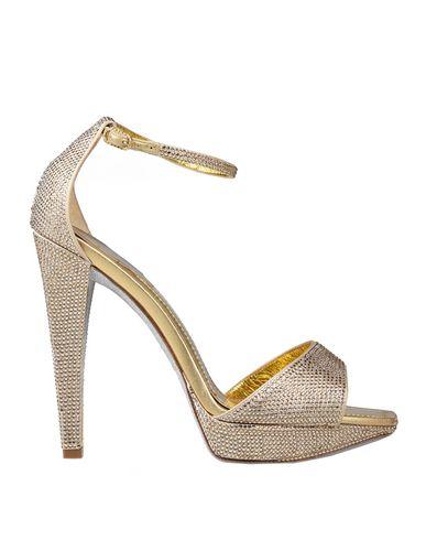 RenÉ Caovilla Sandals In Gold