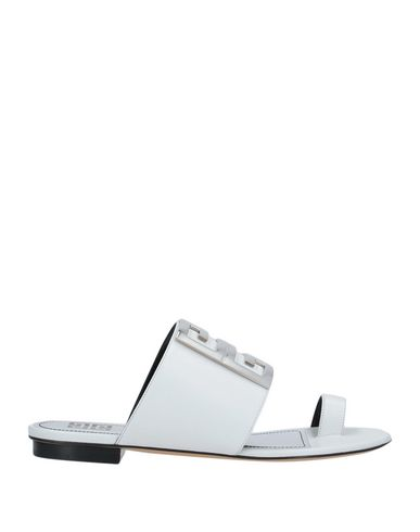 Givenchy Flip Flops In White