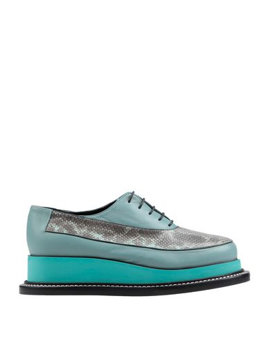Jil Sander Laced Shoes In Grey