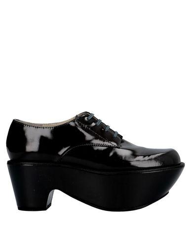 Jil Sander Laced Shoes In Lead