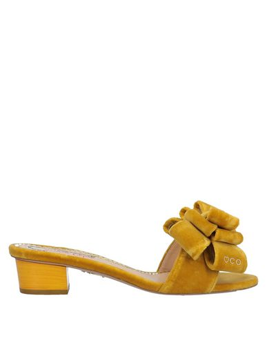 Charlotte Olympia Sandals In Ocher