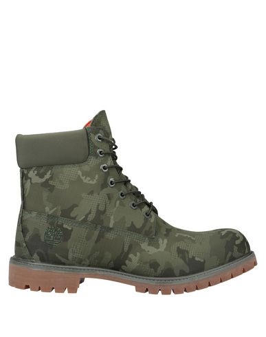 Timberland Boots In Military Green