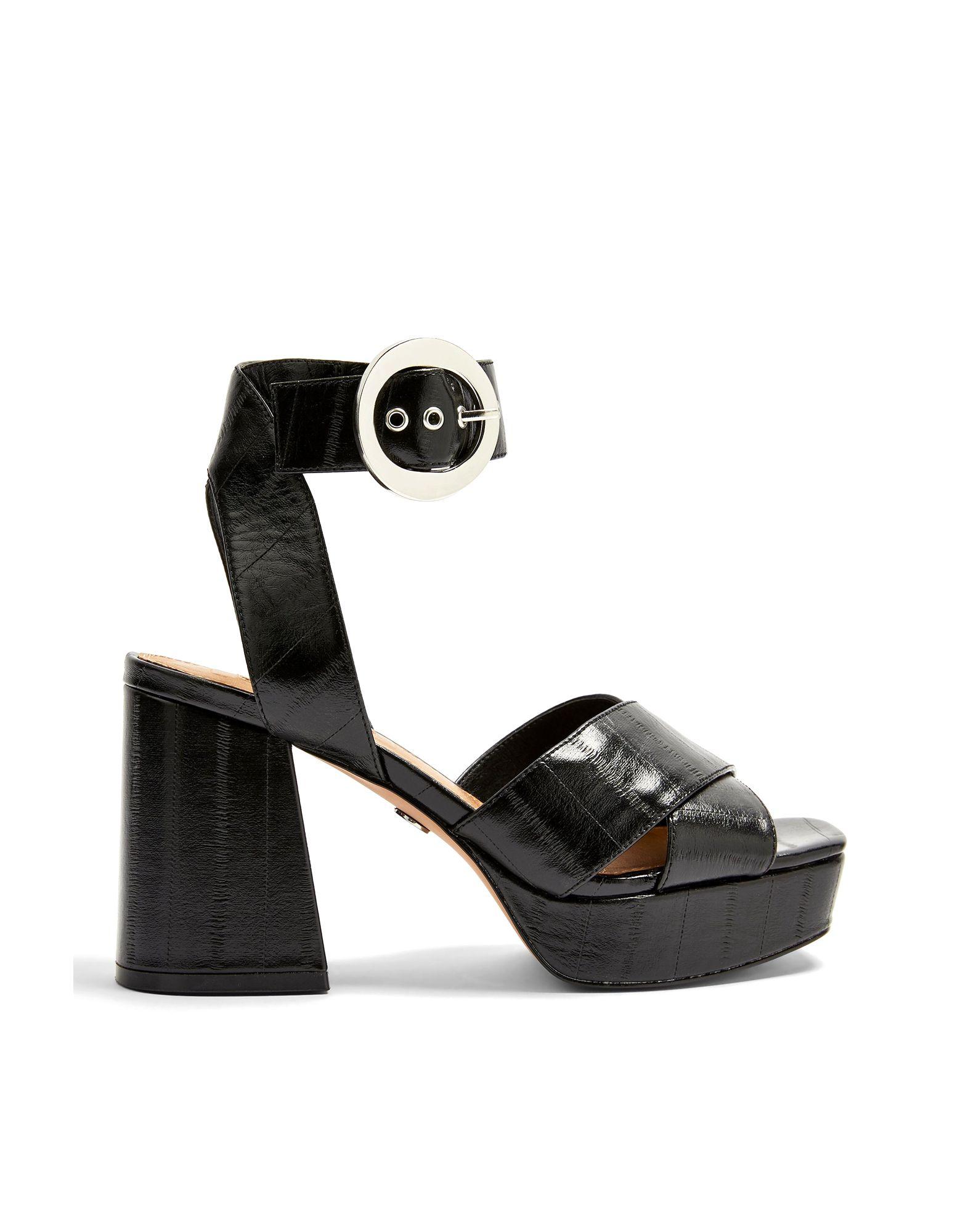 Sandales Topshop Reggie Platform Sandals - Femme - Sandales Topshop   - 11754693MQ
