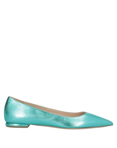 Deimille Ballet Flats In Turquoise