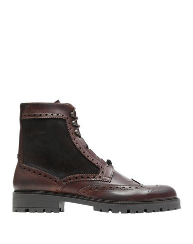 8 By Yoox Boots In Dark Brown
