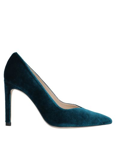 Sandro Pump In Deep Jade
