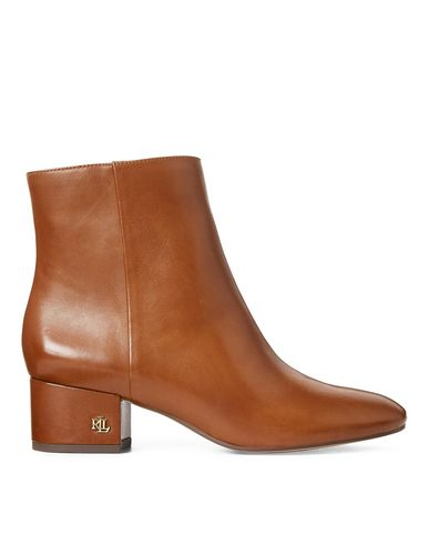Welford Leather Bootie by Lauren Ralph Lauren