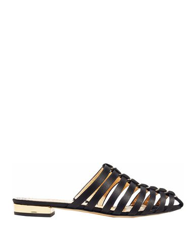 Charlotte Olympia Mules In Black