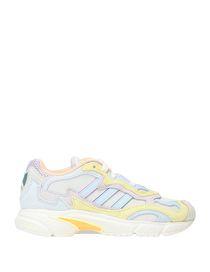 Diadora Sneakers Whizz Run Bianco Fucsia e Verde cotone 100