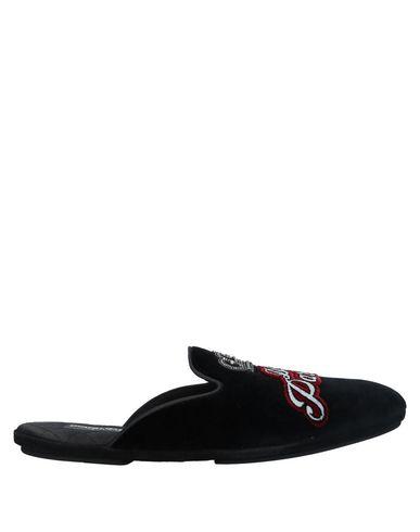 Dolce & Gabbana Slippers In Black