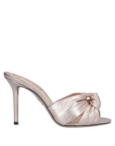Charlotte Olympia Sandals In Light Pink
