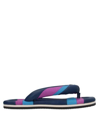 Isabel Marant Flip Flops In Dark Blue