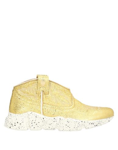 Texas Robot Sneakers In Gold