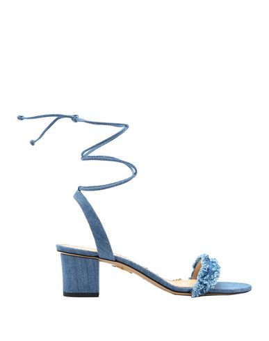 Charlotte Olympia Sandals In Blue