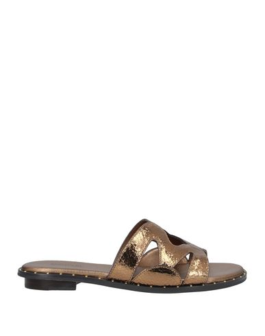 Michael Michael Kors Sandals In Bronze
