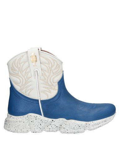 Texas Robot Ankle Boot In Blue