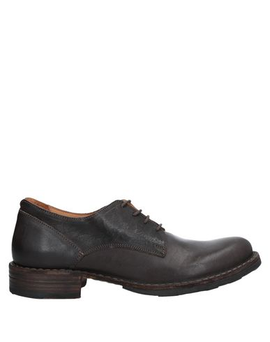 Fiorentini + Baker Laced Shoes In Dark Brown