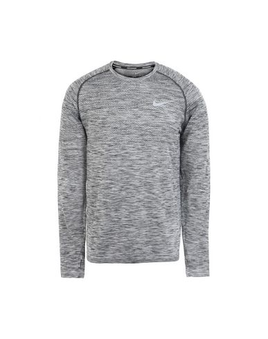 bdfef5205b7b Nike Dri-Fit Knit Top Long Sleeve - Sport T-Shirt - Men Nike Sport T ...