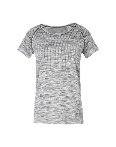 4528dc5934 NIKE. DRI-FIT KNIT TOP SHORT SLEEVE. Sports bras and performance tops