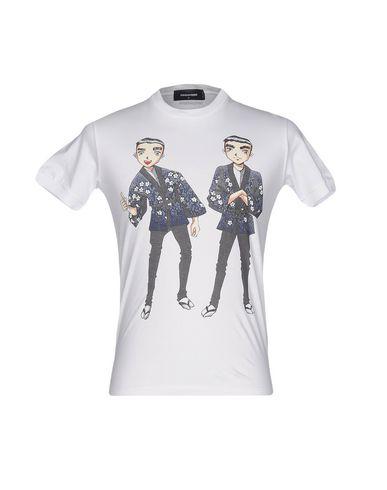 Dsquared2 Camiseta Skynd deg billig topp kvalitet 4Jh87