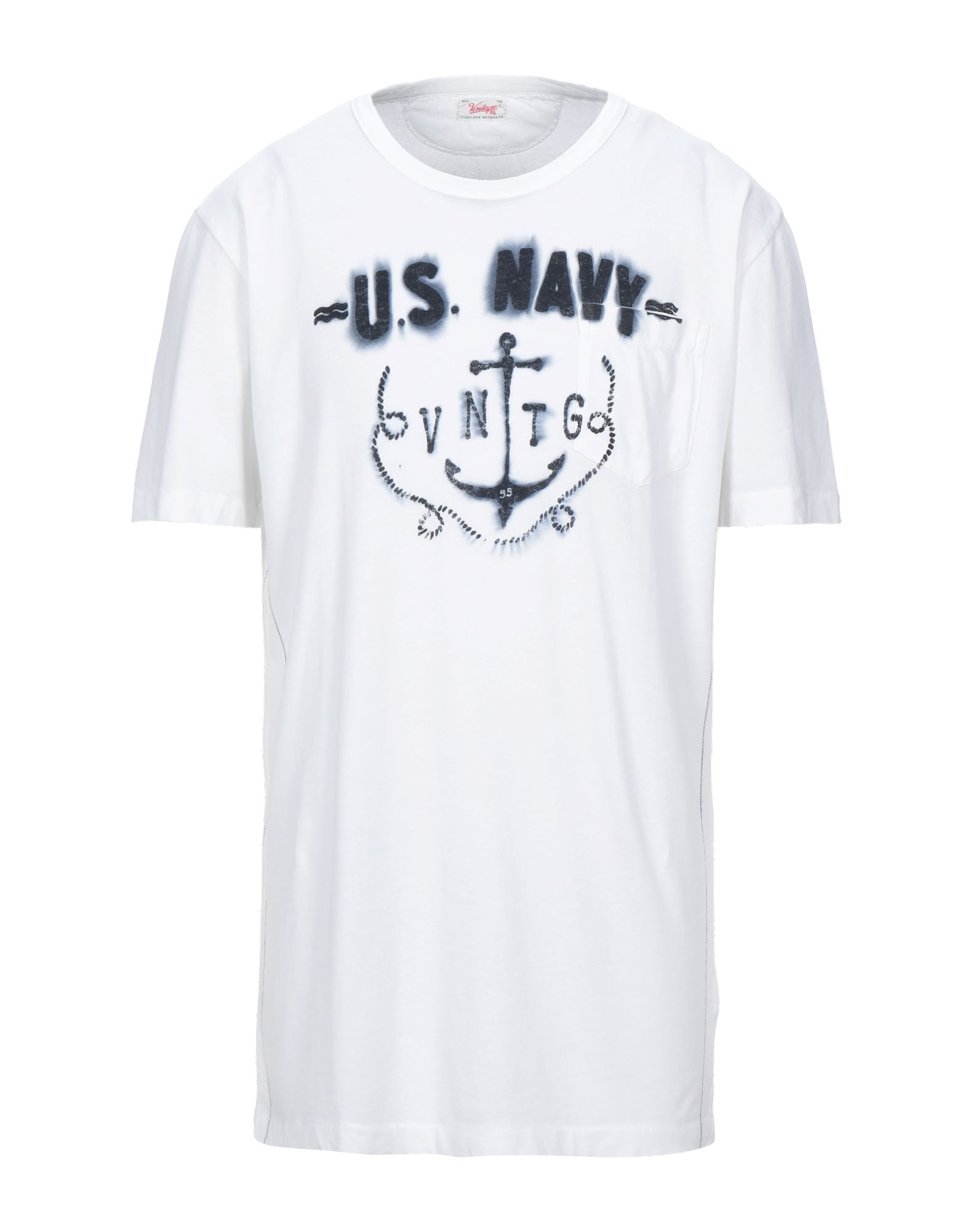 T-Shirt Vintage 55 Uomo - - - 12007659TF 906fc0
