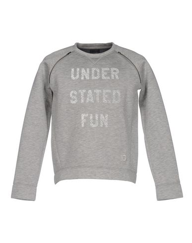 SVNTY Sweatshirt in Light Grey