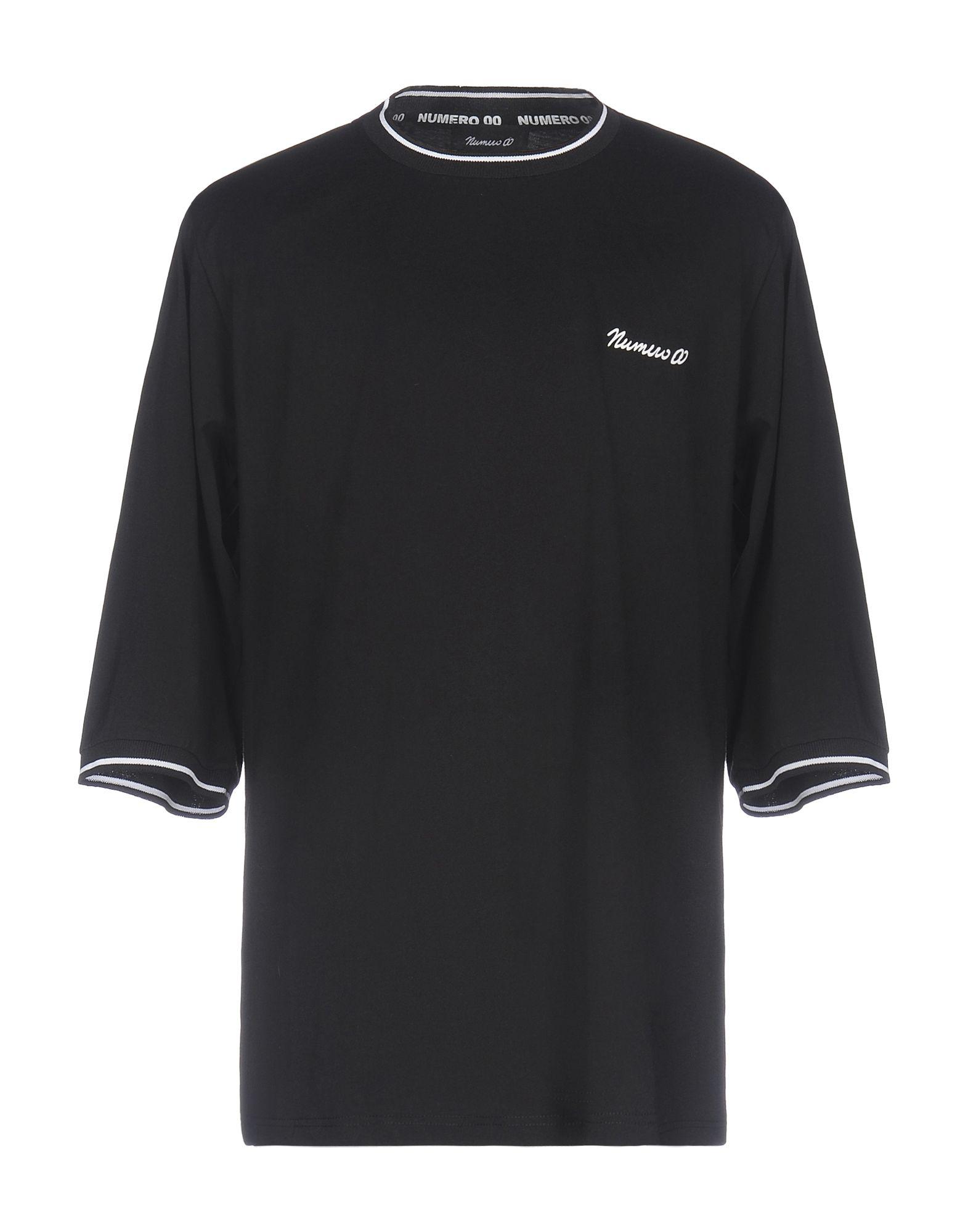 T-Shirt Numero 00 00 00 uomo - 12020525PW c18