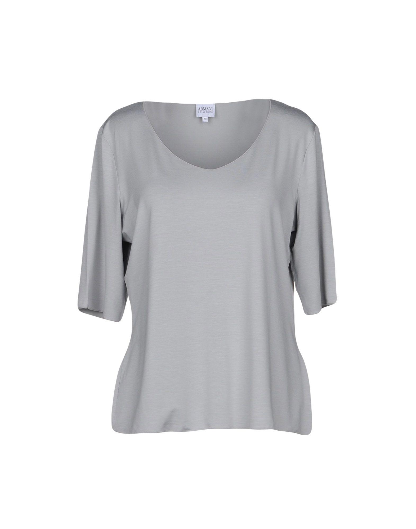 Ligne shirt En Armani Les Collections T Pour FemmesBoutique ZXiuPkwOT