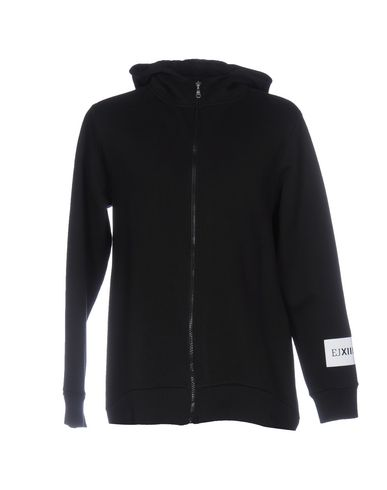 EJXIII Hooded Sweatshirt in Black