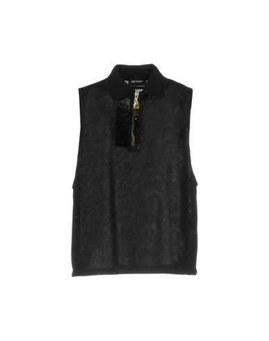 ANTHONY VACCARELLO Polo Shirt in Black