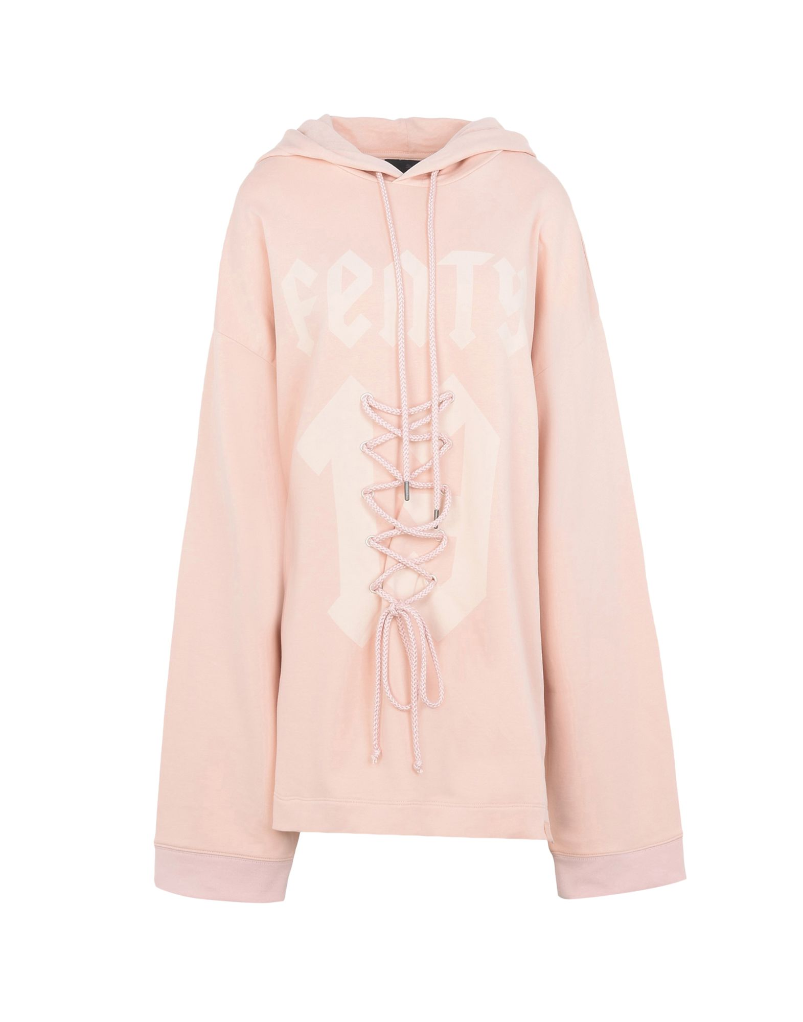 Felpa Fenty Puma By Rihanna Ls Graphic Frt Lacing Hoody - Donna - Acquista online su VtzL8dm3