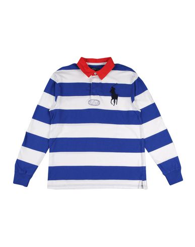 SIZES 5,6,8,10-12 /& 14-16  YRS-NEW Ralph Lauren Boys Stripe T Shirt