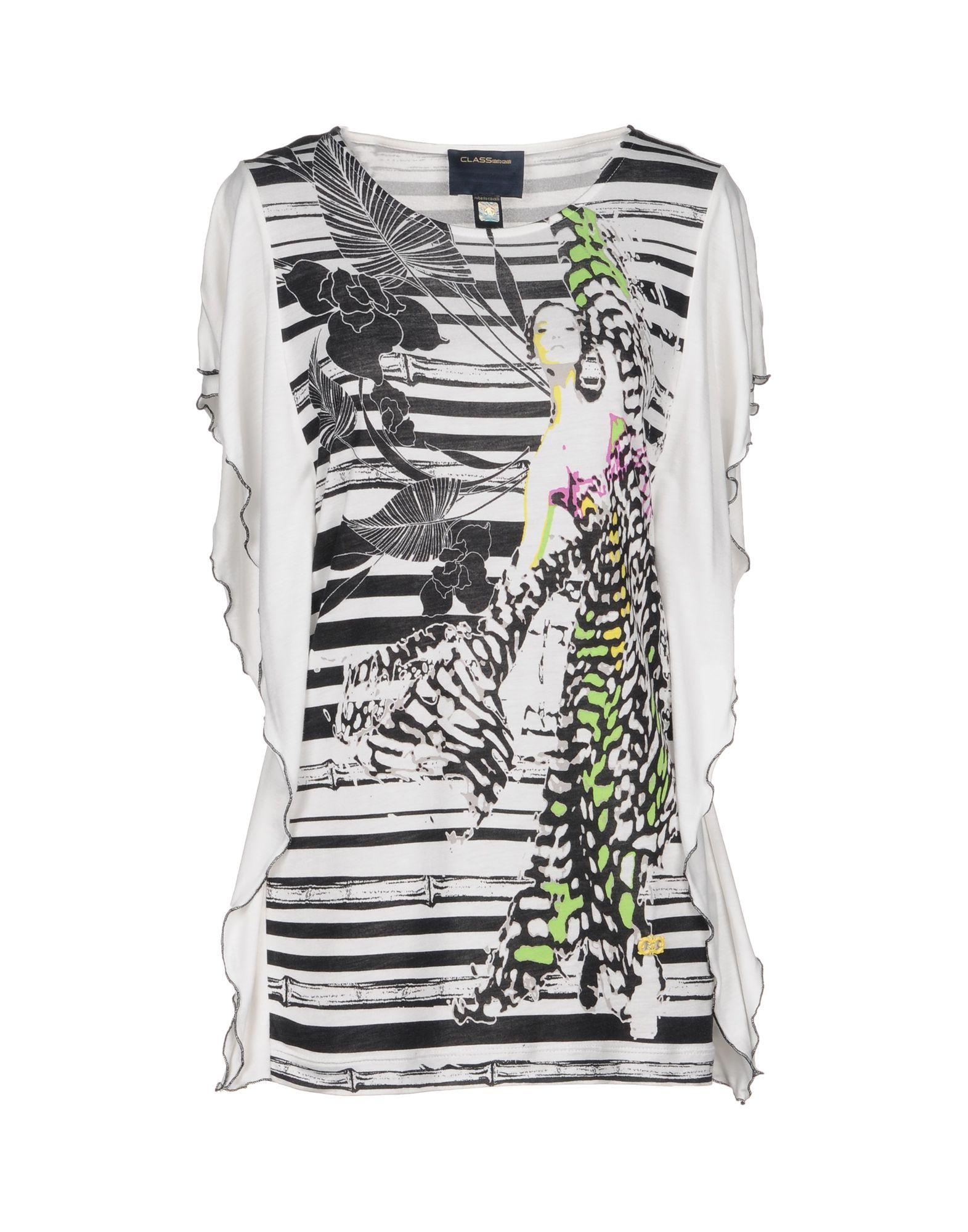 T-Shirt Class Roberto Cavalli Donna - Acquista online su 1zXyvby