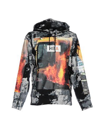 HOOD BY AIR Hooded Sweatshirt in Grey