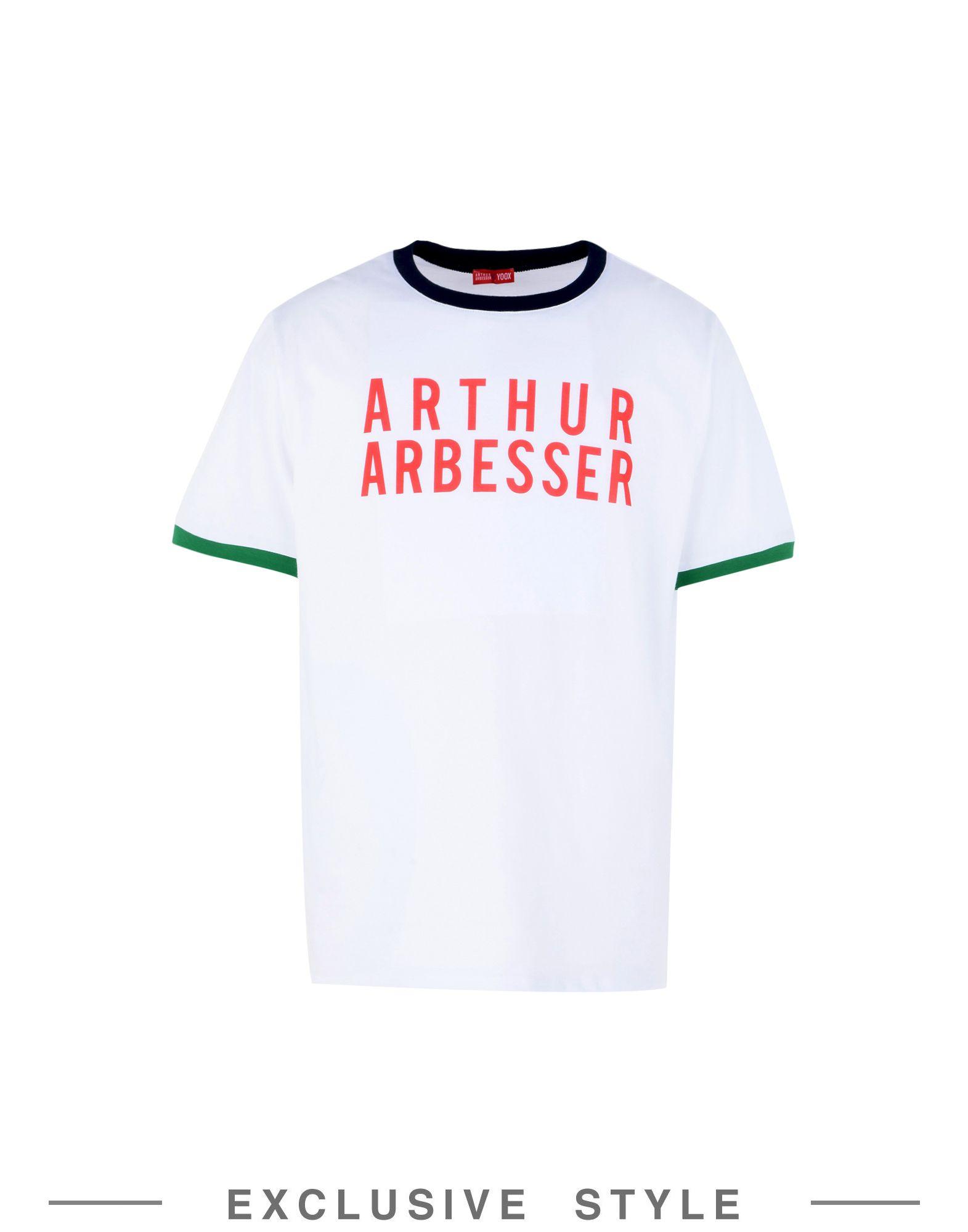 T-Shirt Arthur Arbesser X Yoox Printed T-Shirt - Uomo - 12052732MQ