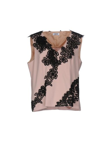MOSCHINO CHEAP AND CHIC Top in Skin Color